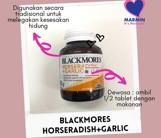 BLACKMORES HORSERADISH + GARLIC