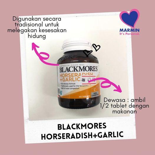 BLACKMORES HORSERADISH + GARLIC